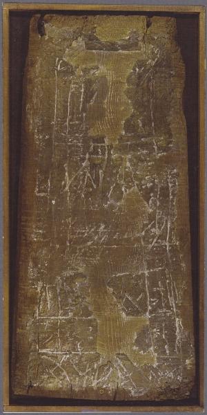 Catturando emozioni, 2000, tecnica mista su tavola, 33x68