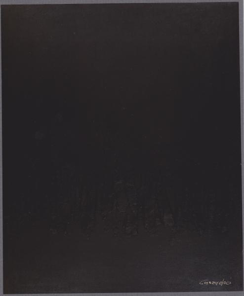 Emozioni, 1996, tecnica mista su legno, 100x120