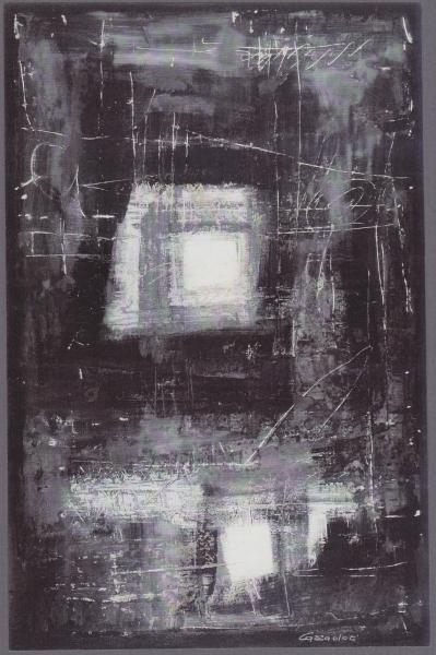 Emozioni 2, 1996, tecnica mista su tavola, 65x100