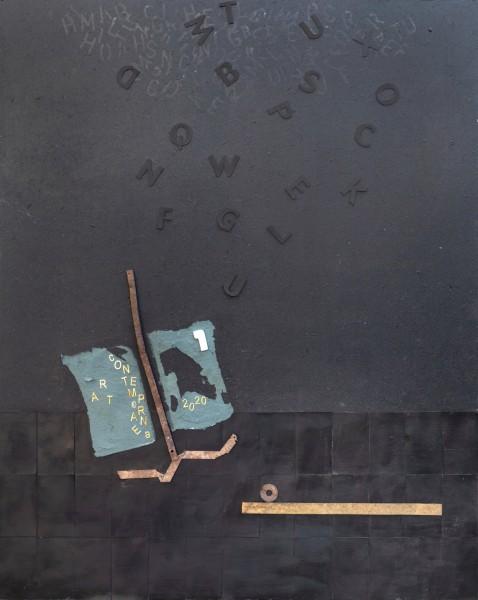 Catturando emozioni, 100x80, tecnica mista su tavola, 2020