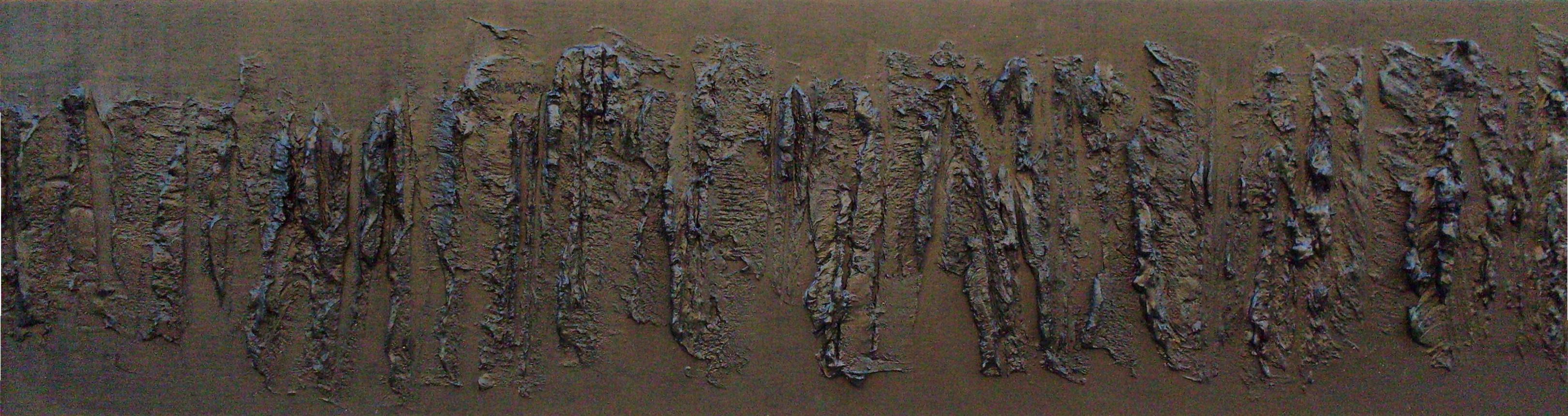 Emozioni 2, tecnica mista su tavola, 100x80, 2008