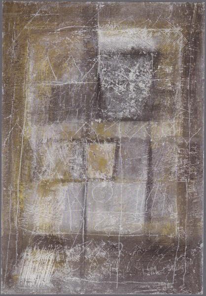 Oltre la superficie, 1997, tecnica mista su tavola, 80x100