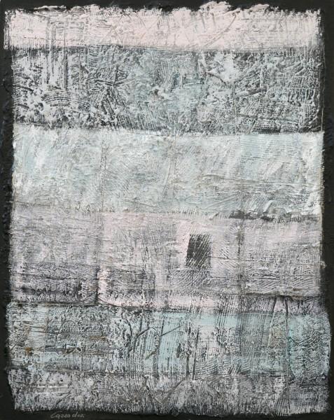 Vecchia storia, 100x80, tecnica mista su tavola, 2015