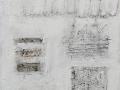 Dialoghi materici, 30x30, tecnica mista su tela, 2017