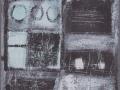 Geometria-dellanima-1995-tecnica-mista-su-legno-70x100