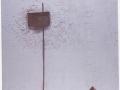 Il-mormorio-del-silenzio-2009-tecnica-mista-su-legno-80x93