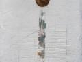 Consunzioni, 98x39, tecnica mista, grafica, ferro, su tavola, 2020