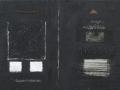 Vecchie scritture, 70x100, tecnica mista ferro su tavola, 2017