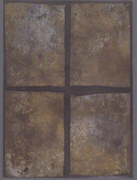 Successione, 2006, 4 moduli 49,5x67,5